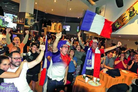 En liesse hier, les supporters calédoniens sont « fin prêts» pour la finale