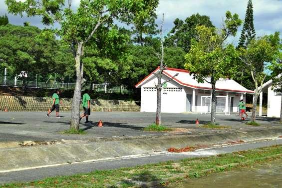 Le plateau sportif du collège  de Koutio va faire peau neuve