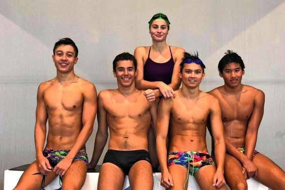 Cinq Calédoniens aux championnats de France