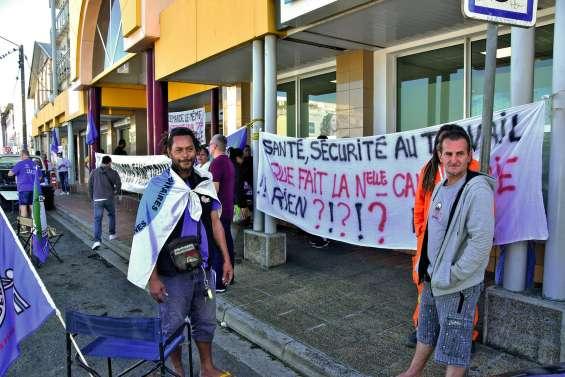 Grève à la direction des services fiscaux