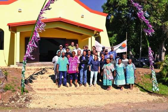 La chapelle de Naniouni inaugurée ce matin