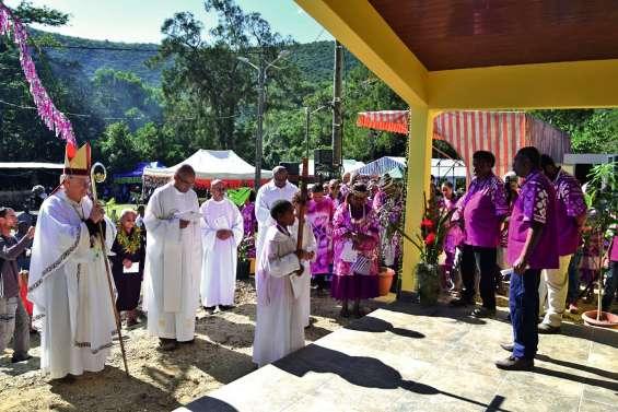 La chapelle de Naniouni accueille enfin les fidèles après huit ans d'effort