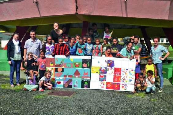 Des élèves de maternelle au lycée Augustin-Ty