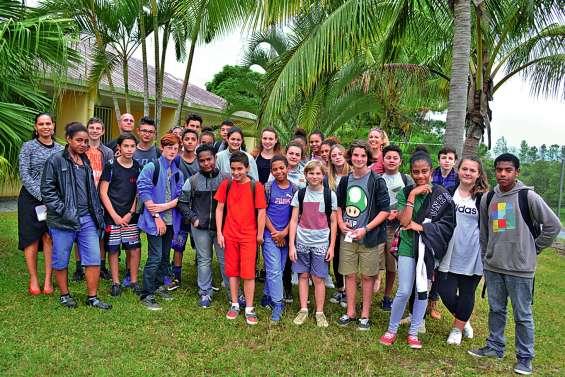 Des collégiens bouraillais se sont envolés pour la Nouvelle-Zélande