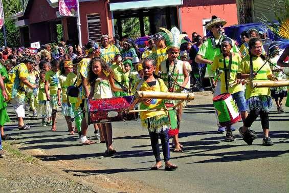 Le carnaval des écoles a fait voyager