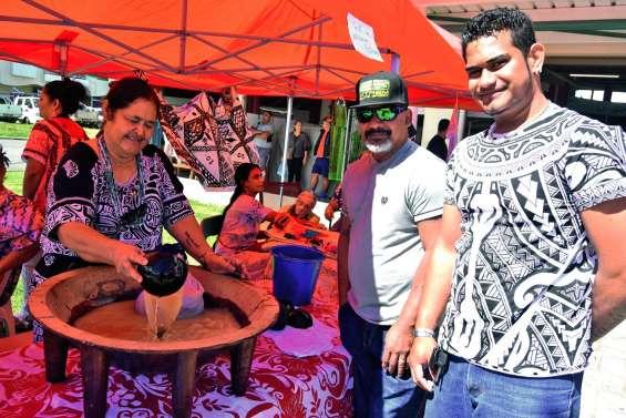 Wallis-et-Futuna, les invités du marché