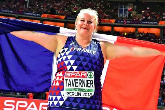 Un lancer en argent pour Alexandra Tavernier