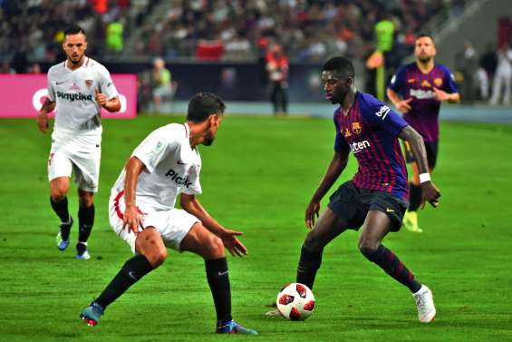 Dembélé offre la Supercoupe au FC Barcelone