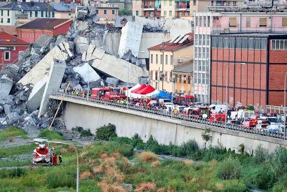 Catastrophe de Gênes : la recherche effrénée de survivants