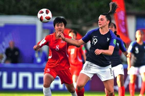 Les Bleuettes dominent les championnes du monde coréennes