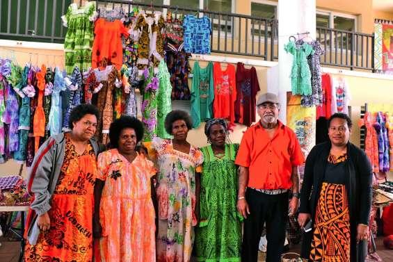 Un marché spécial Vanuatu ce matin au Dock