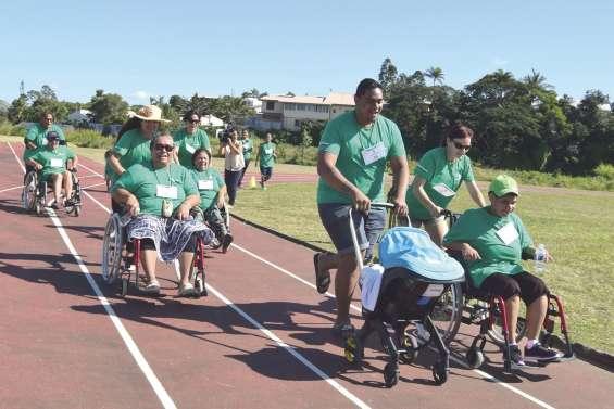 Une Course des heureux  pour changer de regard sur le handicap