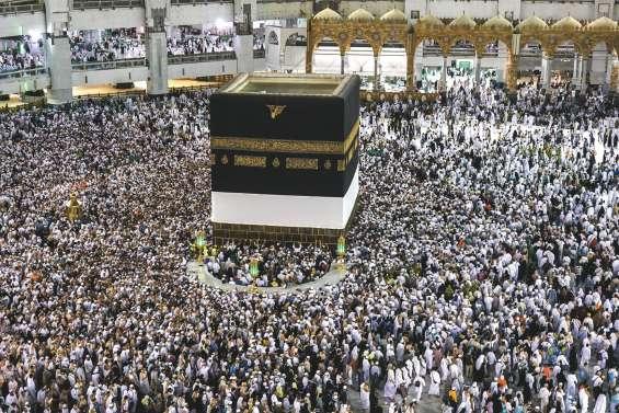 Les musulmans en pèlerinage à La Mecque