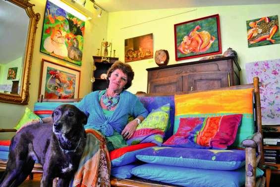 Lise-Marie Harbulot ouvre sa maison aux artistes
