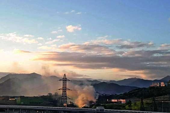 40 hectares brûlés et peu  de doute quant à l'origine