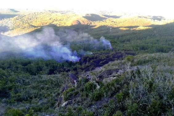 Touho en proie à plusieurs petits feux de brousse