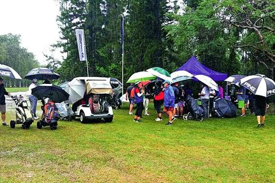 L'Open Hyundai contrarié par la pluie