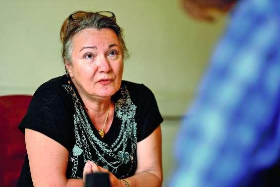 Martine Cornaille, candidate aux élections européennes