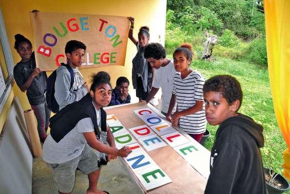 Les jeunes de Tadine  vont présenter leur collège