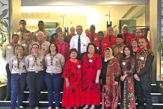 Les Mondoriens en délégation à Yogyakarta en vue du jumelage