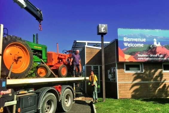 Les tracteurs s'emparent de l'office de tourisme du Grand Sud jusqu'à mercredi