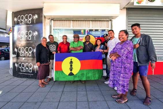Le FLNKS a ouvert un local  de campagne à Nouméa