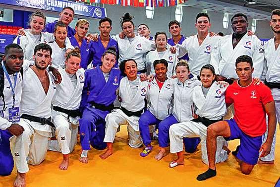 Alexis Mathieu devient vice-champion d'Europe junior par équipes