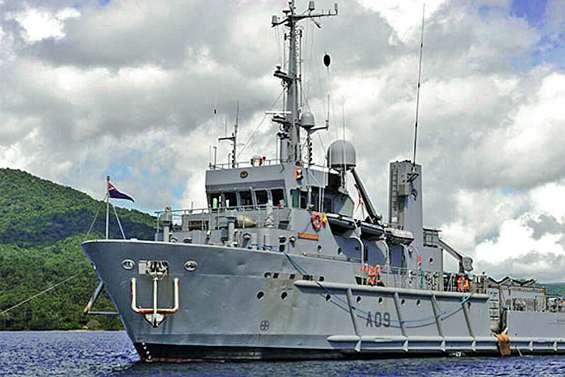 Ils rachètent un navire de guerre néo-zélandais
