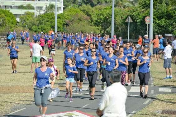 Quatre kilomètres solidaires et féminins