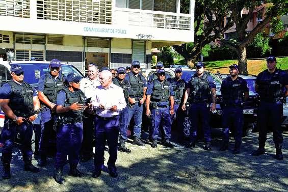 Le groupe de sécurité de proximité lancé, quinze policiers en renfort
