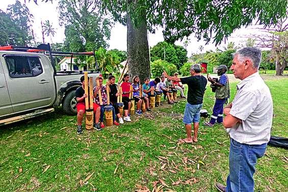 La CHAM en résidence à la tribu de Baco