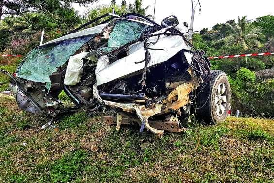 Impressionnant et violent accident au village de Touho