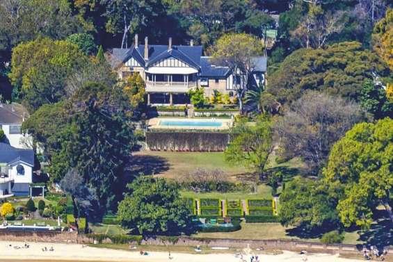 Une villa de Sydney vendue 7,3 milliards CFP