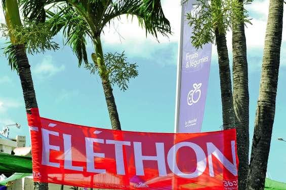 Top départ de la 24e édition du Téléthon