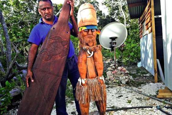 La reconnaissance d'un Kunié aux pompiers de Païta