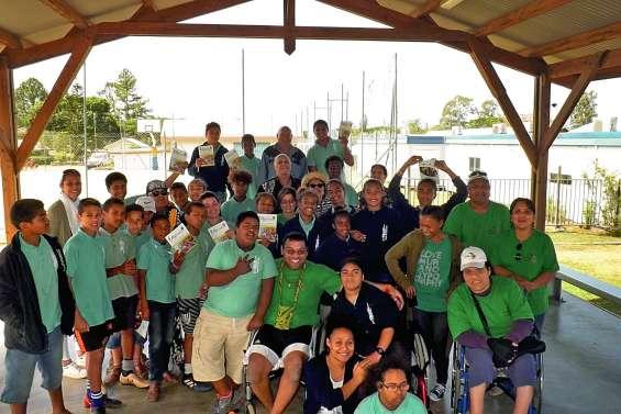 Des collégiens s'engagent au profit de l'Association calédonienne des handicapés