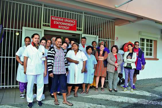 Le personnel du centre médical en a ras-le-bol