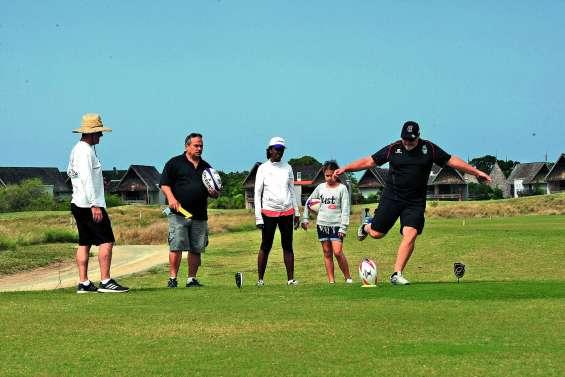 Une première journée de rugby golf à Déva