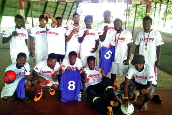 Les lycéens de Gabriel-Rivat sont champions territoriaux UNSS de futsal