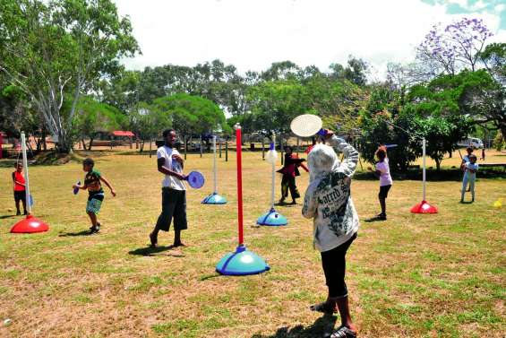 Une journée de sports à Népoui