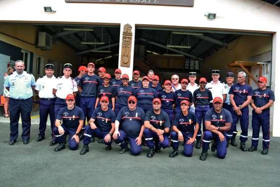 Un double anniversaire chez les sapeurs-pompiers de Bourail