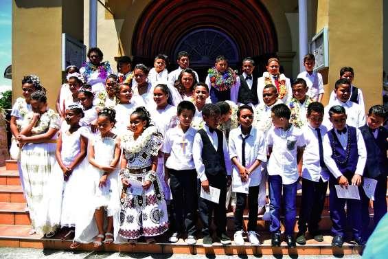 L'école catholique accompagne 33 enfants vers la communion