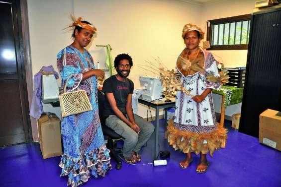 Nengone s'envole pour la Nouméa Fashion Week
