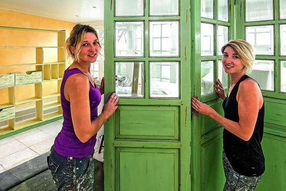 Deux sœurs, deux peintres décoratrices, deux meilleures amies