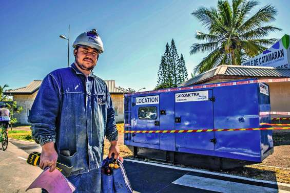 Quatre groupes électrogènes installés pour ne pas couper l'électricité à 472 usagers