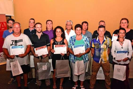 Vingt-cinq artisans distingués pour leur savoir-faire