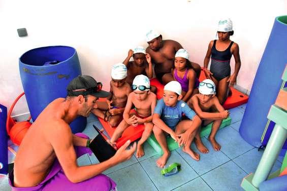 Les jeunes vacanciers ont appris à nager avec les P'tits picots