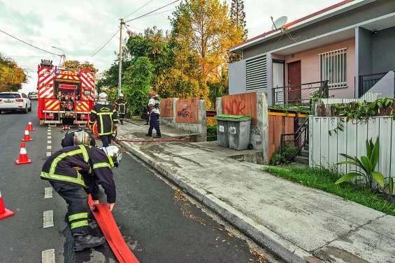 Un feu détruit  une cuisine d'un appartement à Nouméa