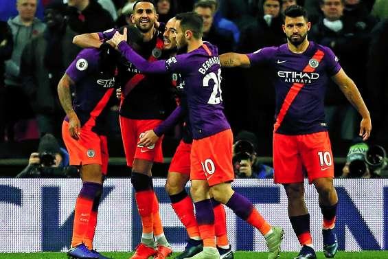 City bat Tottenham et reprend la tête
