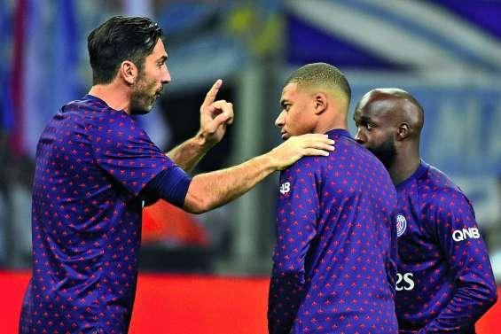 Guianluigi Buffon dans les buts parisiens ce matin face à Lille
